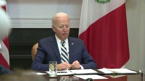 Biden y López Obrador hablan de migración y covid-19 en cumbre virtual