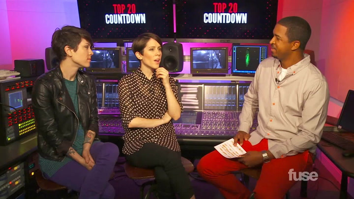 Shows: Top 20: Tegan and Sara Bobin Thicke