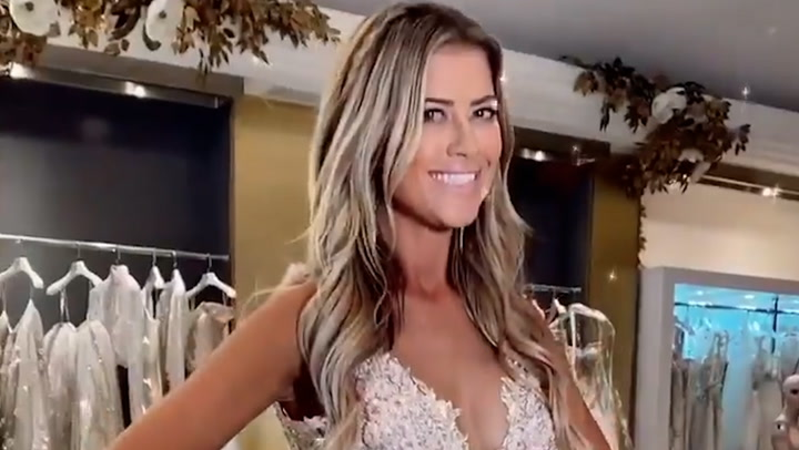 Christina Anstead wows in bridal gown