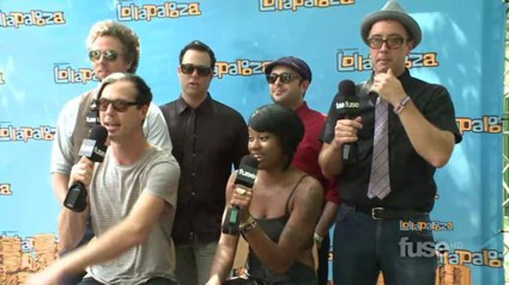 Festivals: Lollapalooza: Fitz and the Tantrums Are Working Hard, So You Better Have Fun - Lollapalooza 2011