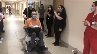 Sunrise Hospital releases man who recovered from coronavirus – VIDEO