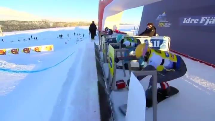 Lucas Eguibar, ¡campeón del mundo de boardercross en una final de infarto!