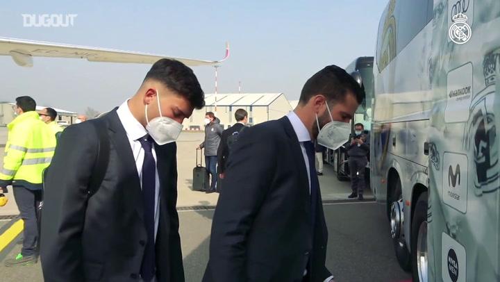 Real Madrid chega em Bérgamo para duelo com o Atalanta na Champions