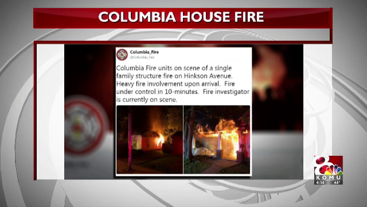 Hinkson Ave. overnight fire