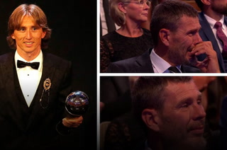 Luka Modric hace llorar a Zvonimir Boban, ex capitán de Croacia
