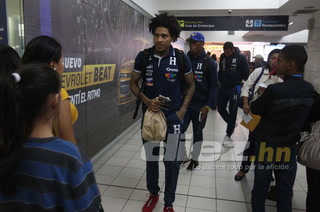 La Selección Nacional de Honduras viajó muy motivada a Chile