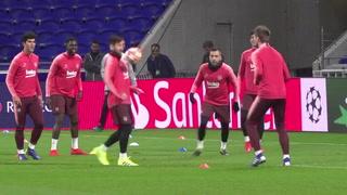 El Barcelona vuelve a la carrera por la 'Champions' ante el Lyon