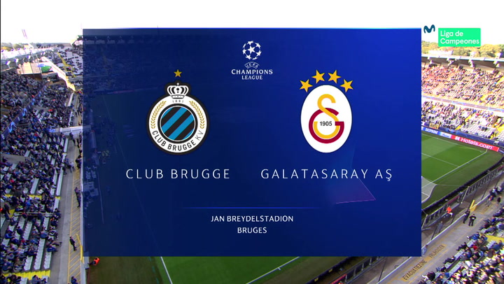 Champions League: Resumen y Goles del Partido Club Brujas - Galatasaray
