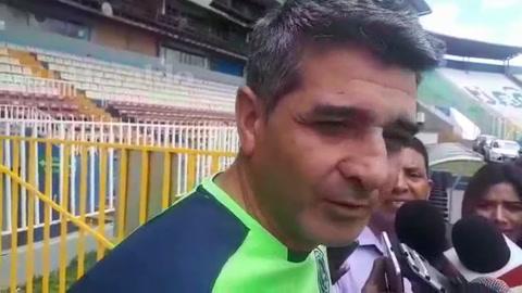 Diego evita criticar a Marathón por la goleada que le dio el Santos