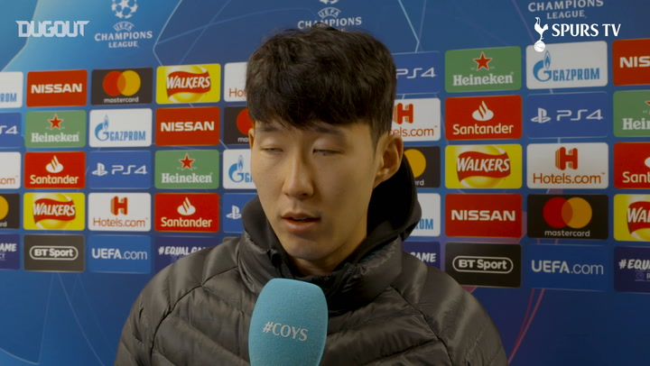 Heung-min Son Delighted With Dortmund Goal