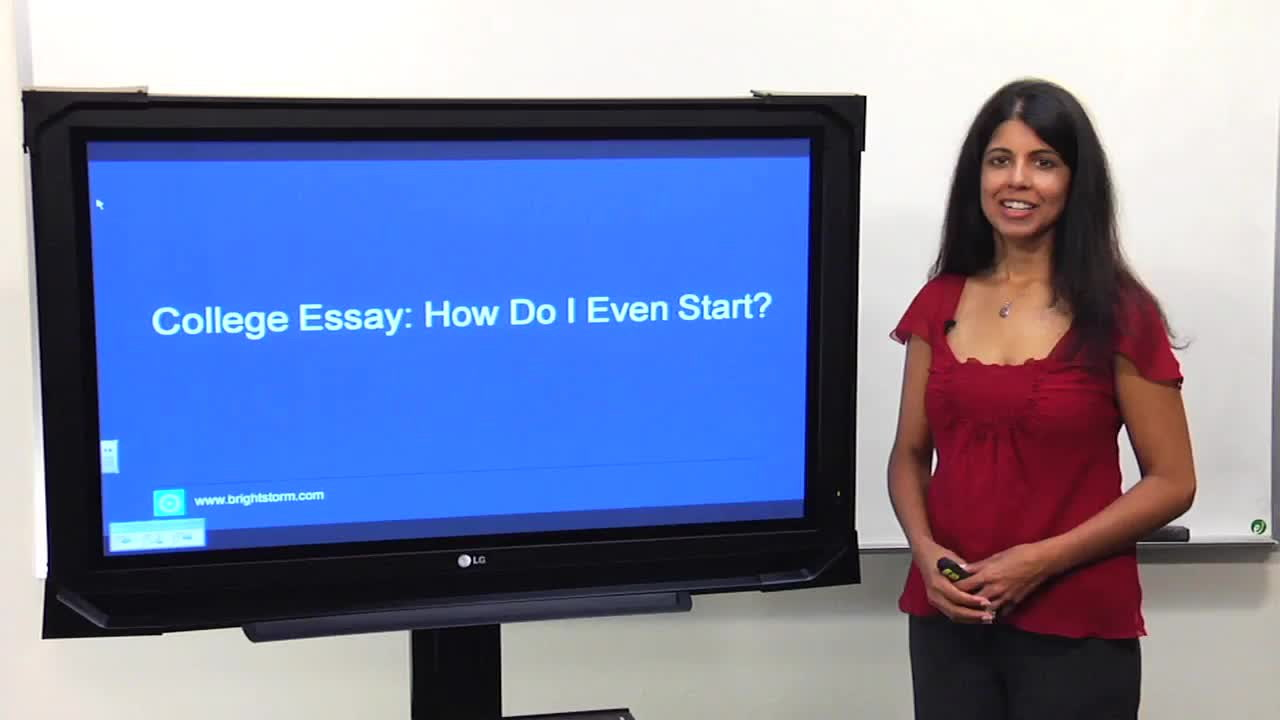 nail your college essay college admission counseling by an  nail your college essay college admission counseling by an expert brightstorm
