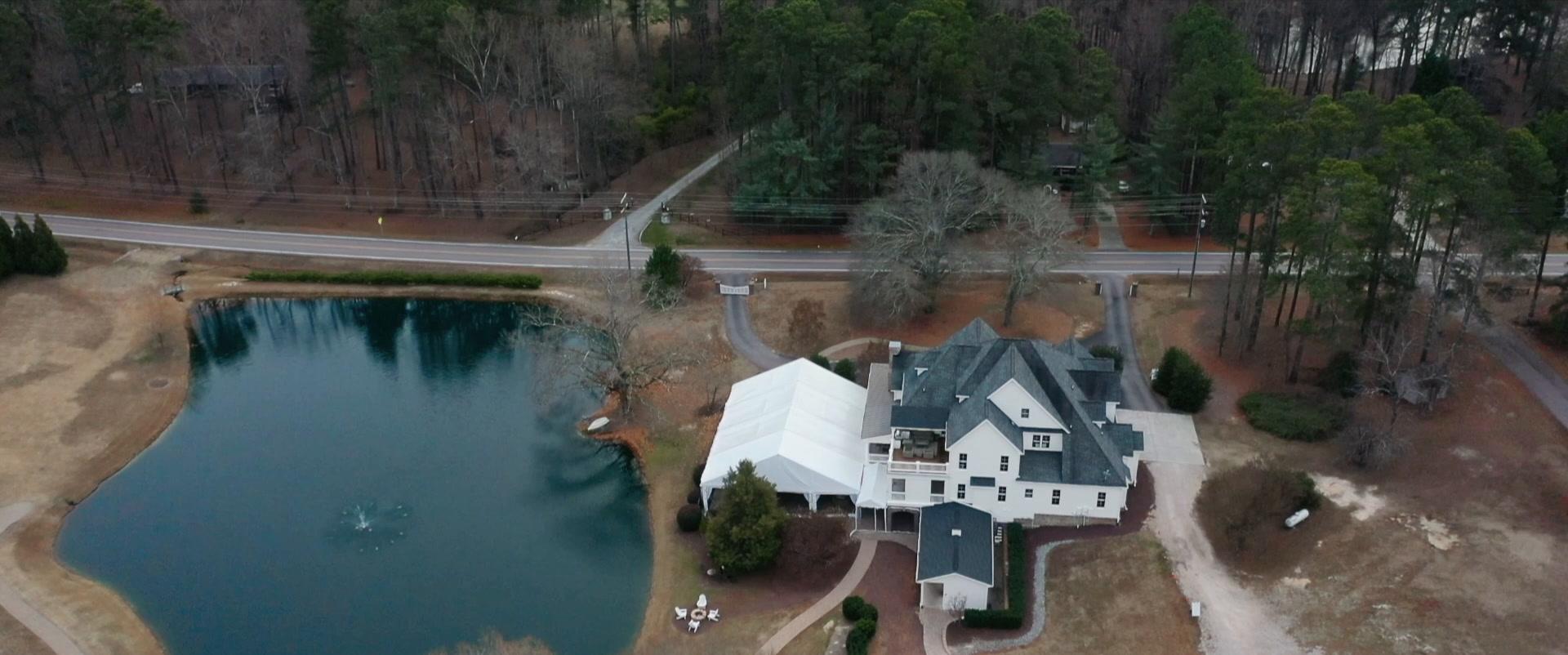 Nicole + Brayden | Apex, North Carolina | mansion