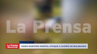 Video muestra mortal ataque a dueño de balneario