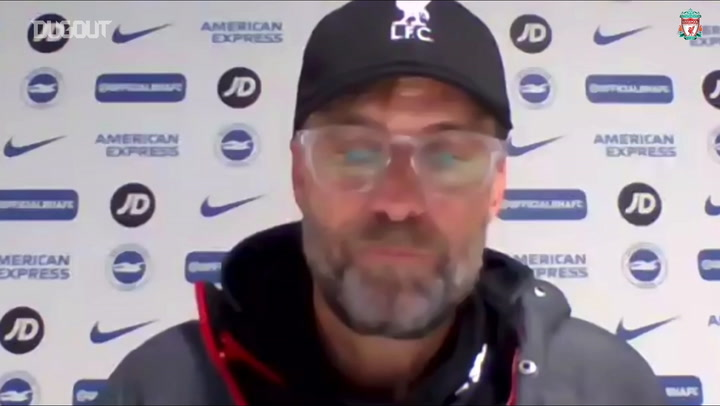 Jurgen Klopp talks about the goal contributions of Salah, Firmino and Mané