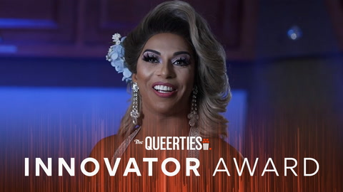 Shangela, The #Queerties INNOVATOR AWARD nominee