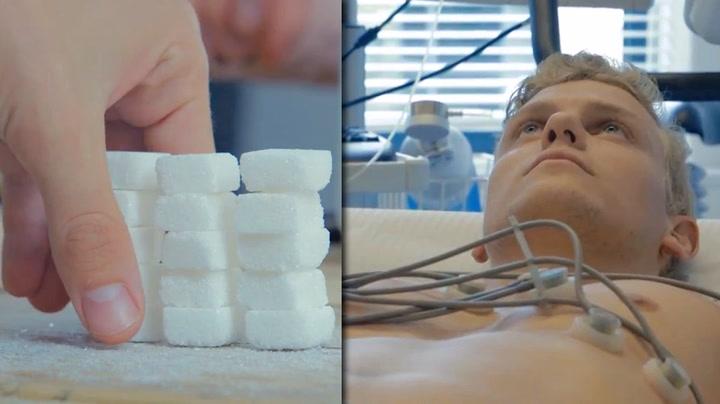 Eksperiment viser hva sukker gjør med deg