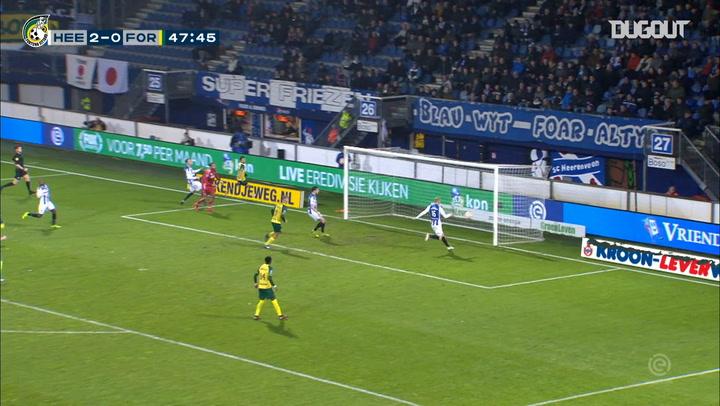 Fortuna Sittard's Eredivise goals vs Heerenveen