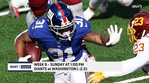 What are the odds on Sunday's NFL action?