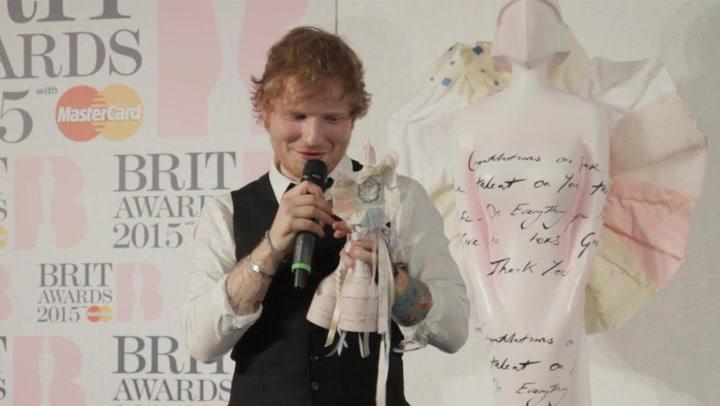 Ed Sheeran Thought Sam Smith Would Win All His 2015 BRIT Awards