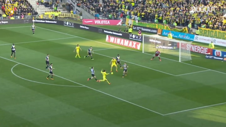 Emiliano Sala's double secures victory over SCO Angers