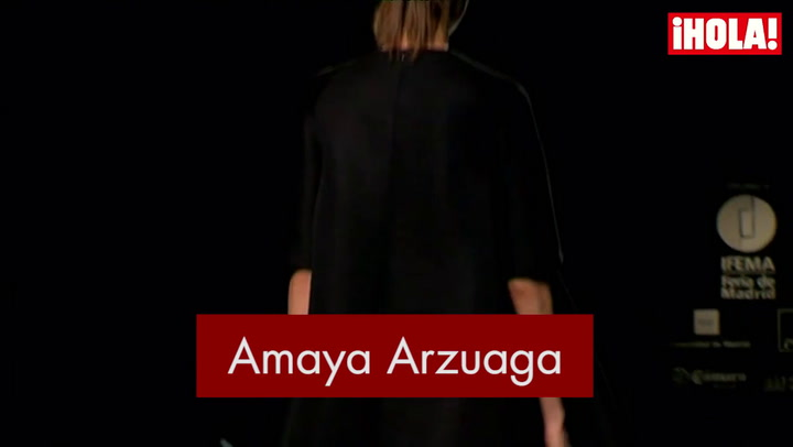 Fashion Week Madrid otoño-Invierno 2015-2016: Amaya Arzuaga
