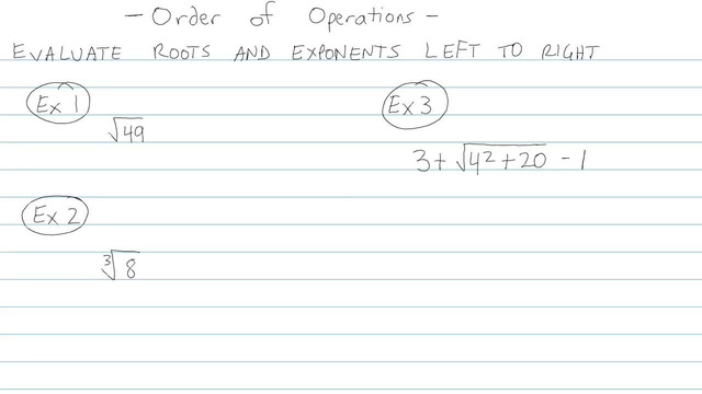 Order of Operations - Problem 7