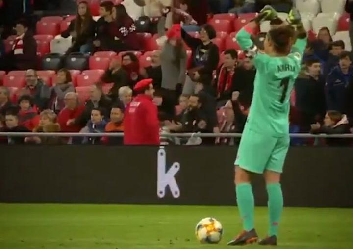El emotivo vídeo del Athletic por la retirada de Ainhoa Tirapu