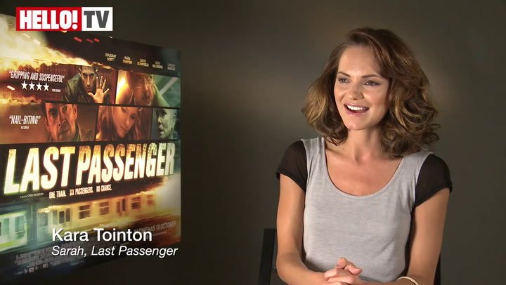 Kara Tointon speaks to HELLO! about her starring role in thriller Last Passenger