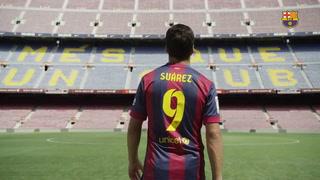 El imponente video con el que Barcelona despidió a Luis Suárez tras seis años