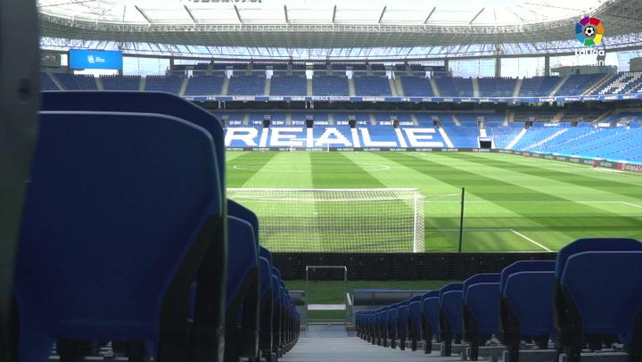 Así luce el renovado Anoeta, ahora llamado Reale Arena