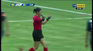 El controversial gol anulado a Olimpia en la final de ida ante Motagua