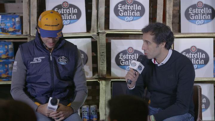 """Carlos Sainz: """"El plan para 2020 va bien"""""""