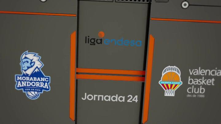 MoraBanc Andorra - Valencia Basket (84-72)