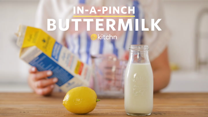 How to make homemade recipe without buttermilk with vinegar