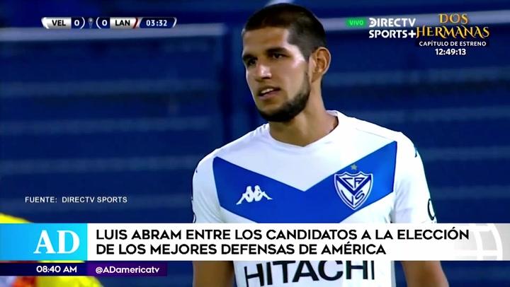 Luis Abram se encuentra entre los nominados como mejor zaguero central de América