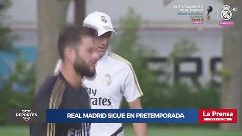 Real Madrid sigue en pre temporada pendiente de más salidas