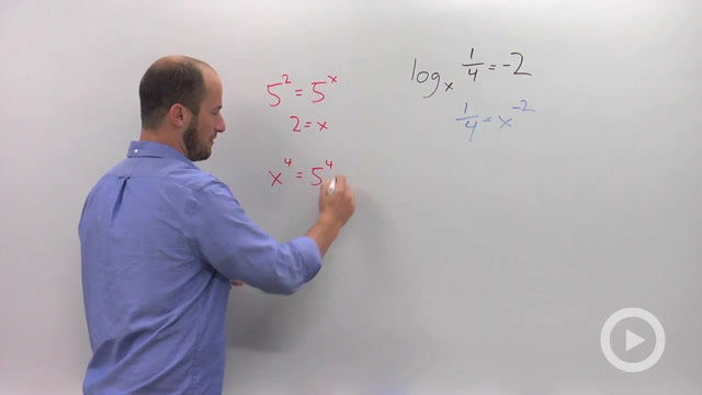 Solving Simple Logarithmic Equations - Problem 3