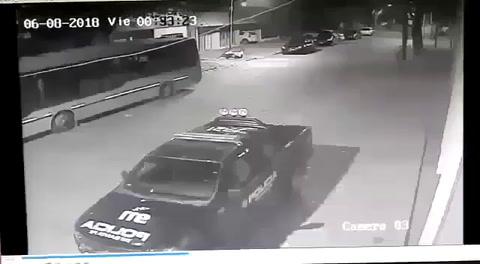 Esclarecieron el incendio intencional a un patrullero en Rosario
