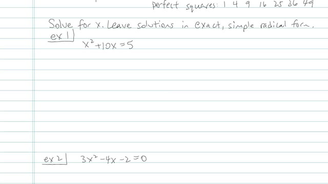 The Quadratic Formula - Problem 13