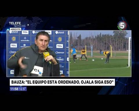 Bauza dijo que los jugadores están cómodos y no vamos a cambiar nada