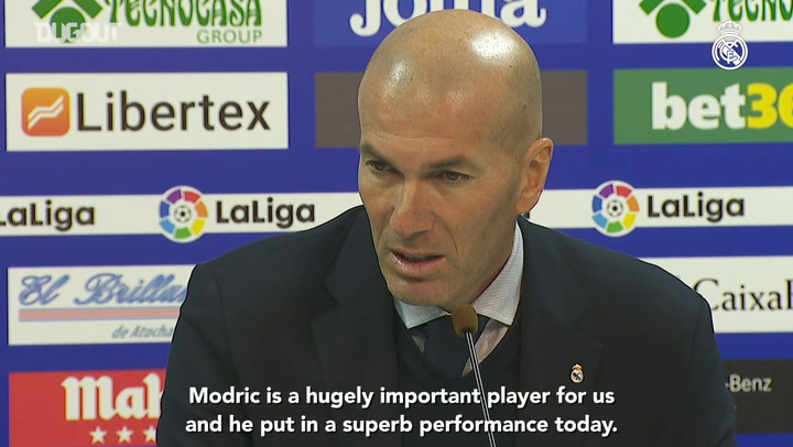 Zidane: 'We fought hard and clinched the win as a team'