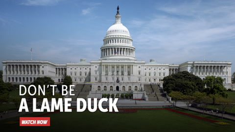 Don't Be a Lame Duck