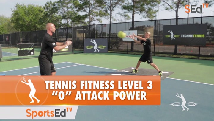"""Tennis Fitness Level 3 / Build """"O"""" Attack Power 3"""