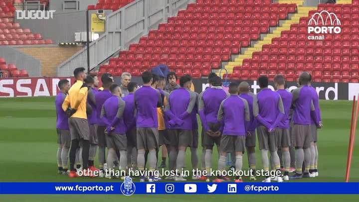 FC Porto Prepare For Liverpool Test
