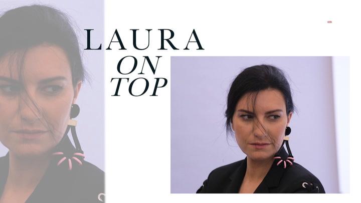 Solo en Fashion: Laura Pausini, sobre moda, música y su disco número 13