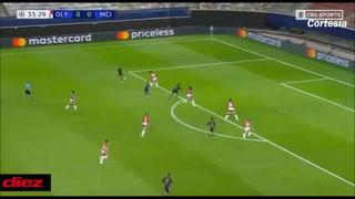 Manchester City vence por la mínima al Olympiacos y clasifica a los octavos de final