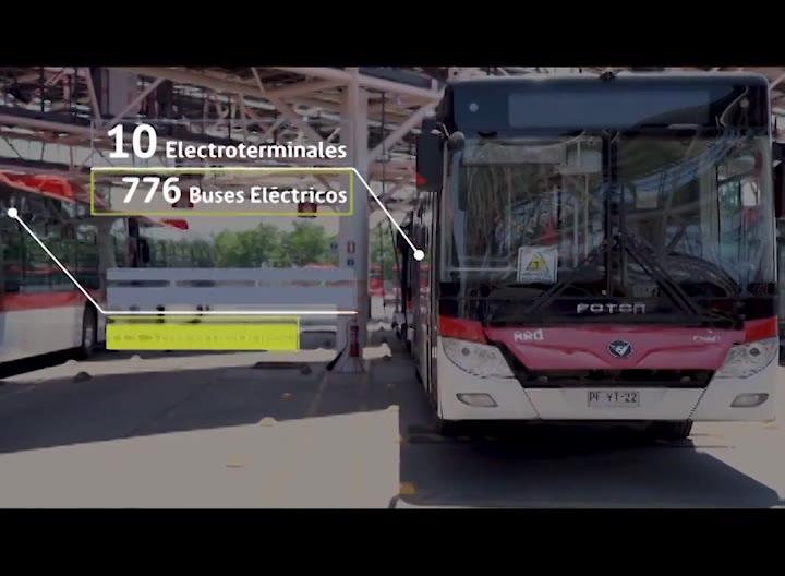 Chile presenta electroterminal para transporte público más grande de Latinoamérica