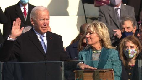 Biden asume como 46° presidente de EEUU y promete