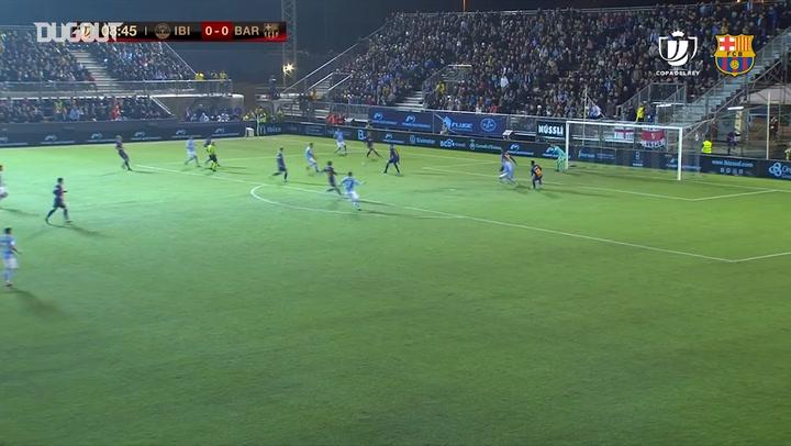 Highlights: UD Ibiza 1-2 FC Barcelona