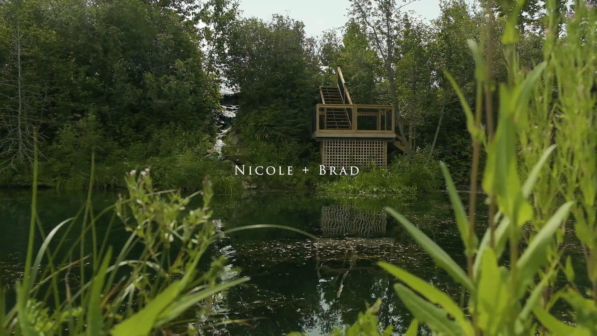 Nicole  + Bradley | Ponoka, Canada | Pine and Pond